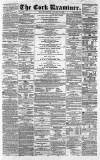 Cork Examiner Monday 13 January 1862 Page 1