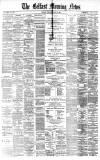 "Dowie CO.'S challenge"" SAKSAPARILLA, KALI WATER, SODA WATKK, LEMONADE. GINGER ALE, ftc., *c. CROMAC-WEI.L BOTTLING WORKS, Belfast. 373 7 4"
