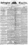 Islington Gazette Saturday 11 October 1856 Page 1