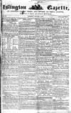 Islington Gazette Saturday 03 January 1857 Page 1