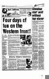 Four days of fun on the Western front