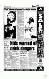 Kids warned of drink ......dangers