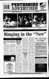 Perthshire Advertiser Tuesday 05 January 1993 Page 34