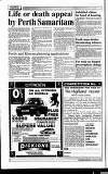 Perthshire Advertiser Friday 08 January 1993 Page 4