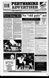 Perthshire Advertiser Tuesday 12 January 1993 Page 34