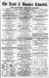 Kent & Sussex Courier Friday 26 September 1873 Page 1