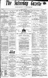 Daily Gazette for Middlesbrough Saturday 02 March 1872 Page 1