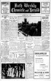 Bath Chronicle and Weekly Gazette Saturday 01 July 1950 Page 1