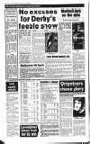 26 DERBY EVENING TELEGRAPH, Tuesday, March 25, 1986