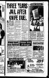 THREE YEARS' JAIL AFTER KNIFE DUEL