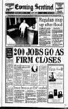 Staffordshire Sentinel Saturday 04 January 1992 Page 1