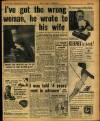 "Page 3 No more soggy handkerchiefs... Wednesday, November 19, 1952 THE DAILY MIRROR I ve wrong wrote ""woman, he to"