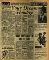DAILY MIRROR, Tuesday, July 20, 1954 PAGE 7 NOEL/'ve got mailbags under my eyes after reading 11,500 postcards just finishei