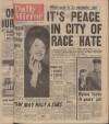 PEACE PACT IN CITY OF RACE RIOTS