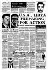 U.S.A., LIBYA PREPARING FOR ACTION Gadaffi's plans finalised
