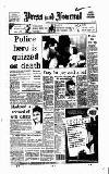 Aberdeen Press and Journal Tuesday 05 January 1993 Page 1