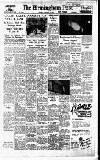 Birmingham Daily Post Monday 04 January 1954 Page 1