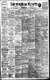 Birmingham Daily Gazette Wednesday 03 June 1908 Page 1