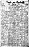 Birmingham Daily Gazette Saturday 03 October 1908 Page 1