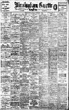 Birmingham Daily Gazette Saturday 07 November 1908 Page 1