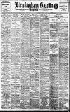 Birmingham Daily Gazette Tuesday 08 December 1908 Page 1