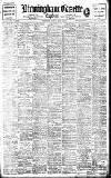 Birmingham Daily Gazette Monday 05 April 1909 Page 1