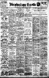 Birmingham Daily Gazette Friday 06 January 1911 Page 1