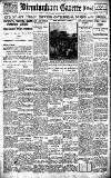 Birmingham Daily Gazette Thursday 02 June 1921 Page 1