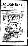 Daily Herald Friday 01 August 1913 Page 1