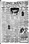Daily Herald Wednesday 07 October 1925 Page 1
