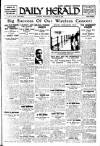 Daily Herald Wednesday 28 October 1925 Page 1