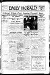 Daily Herald Monday 01 March 1926 Page 1