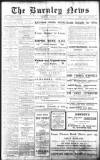 Burnley News Wednesday 11 December 1912 Page 1