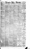 Leicester Daily Mercury Saturday 02 February 1889 Page 1
