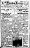 Leicester Daily Mercury Tuesday 12 January 1926 Page 1
