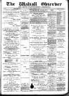 Walsall Observer, and South Staffordshire Chronicle Saturday 16 January 1897 Page 1