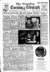Coventry Evening Telegraph Monday 02 January 1950 Page 1