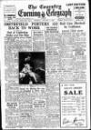 Coventry Evening Telegraph Tuesday 03 January 1950 Page 1