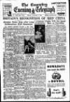 Coventry Evening Telegraph Friday 06 January 1950 Page 1