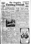 Coventry Evening Telegraph Wednesday 11 January 1950 Page 1