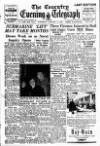 Coventry Evening Telegraph Saturday 14 January 1950 Page 1