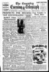 Coventry Evening Telegraph Saturday 21 January 1950 Page 1