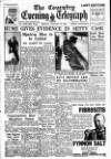 Coventry Evening Telegraph Monday 23 January 1950 Page 1