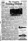 Coventry Evening Telegraph Saturday 28 January 1950 Page 1