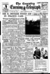 Coventry Evening Telegraph Friday 27 February 1953 Page 1