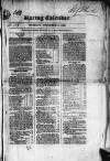 The Irish Racing Book and Sheet Calendar