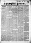 Athlone Sentinel Friday 11 December 1835 Page 1