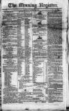 Dublin Morning Register Saturday 25 August 1827 Page 1