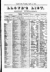 Lloyd's List Tuesday 30 April 1872 Page 9