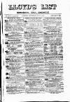 Lloyd's List Saturday 06 July 1878 Page 1